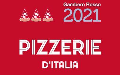 Guida Pizzerie d'Italia 2021 del Gambero Rosso. Tutti i premi