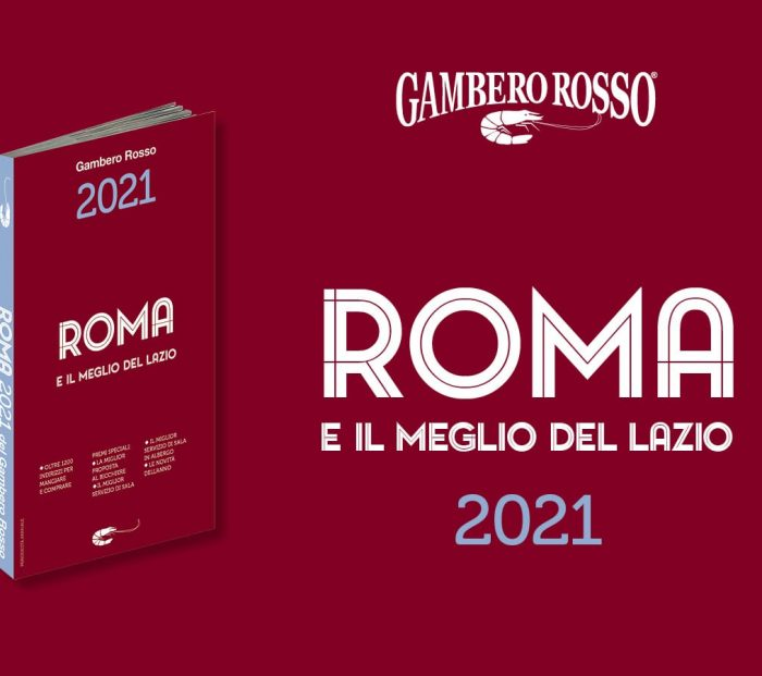 Roma e il meglio del Lazio 2021 del Gambero Rosso. Tutti i premi della guida