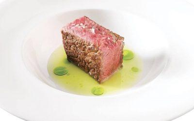 Un piatto di Riccardo Camanini, simbolo di Identità Golose 2020