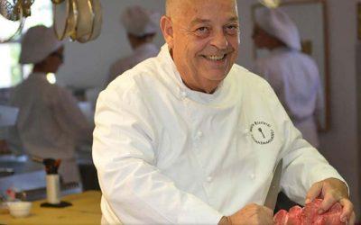 Mauro Ricciardi in cucina