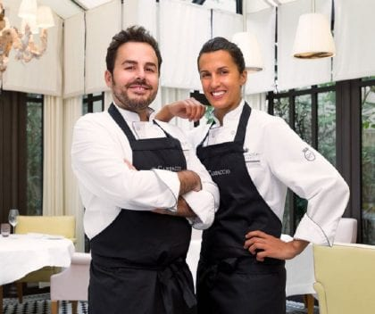 Oliver Piras e Alessandra Del Favero