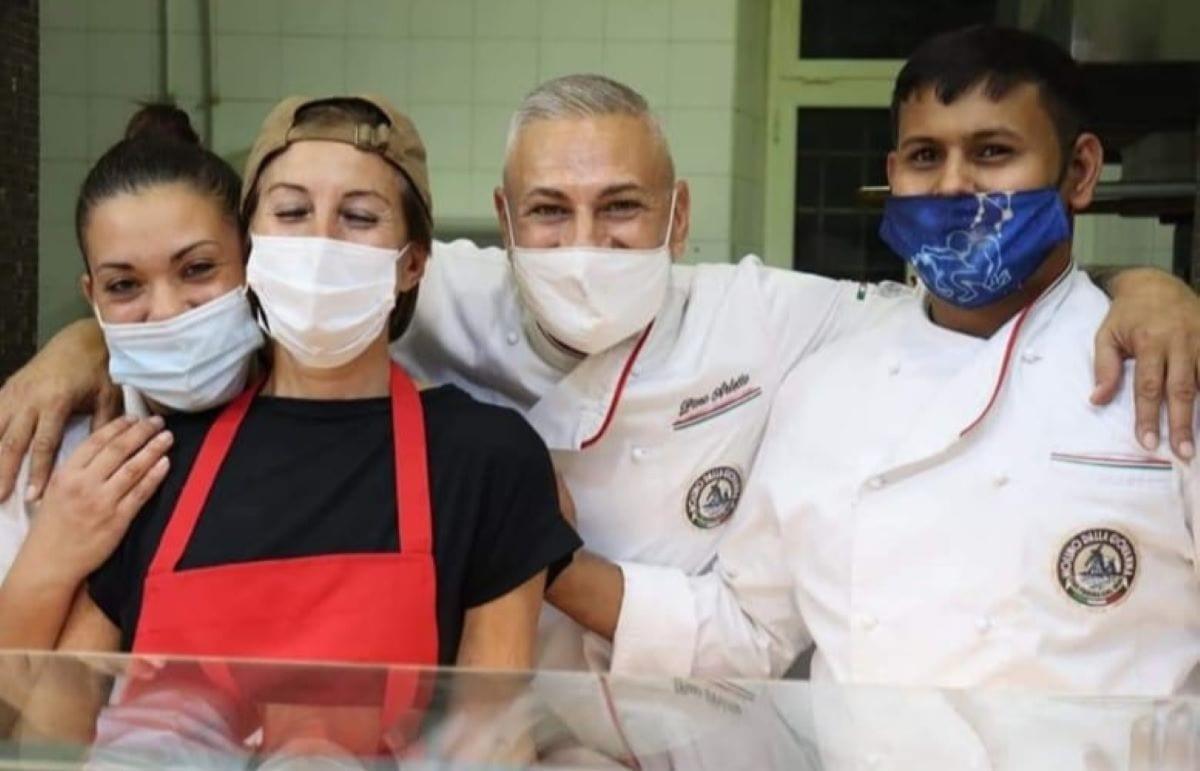 Pino Arletto e il suo team