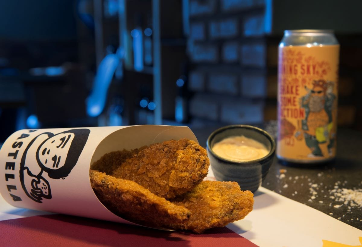 Il pollo fritto di Pastella