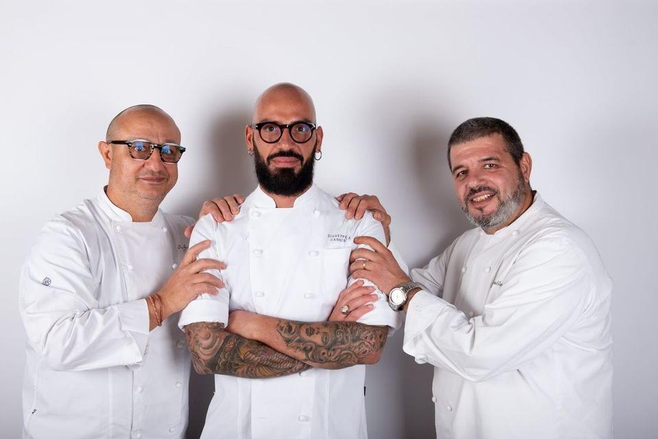 Ciccio Sultano, Peppe Cannistrà e Marco Corallo