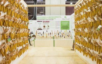 Una sala sulla biodiversità al Salone del Gusto
