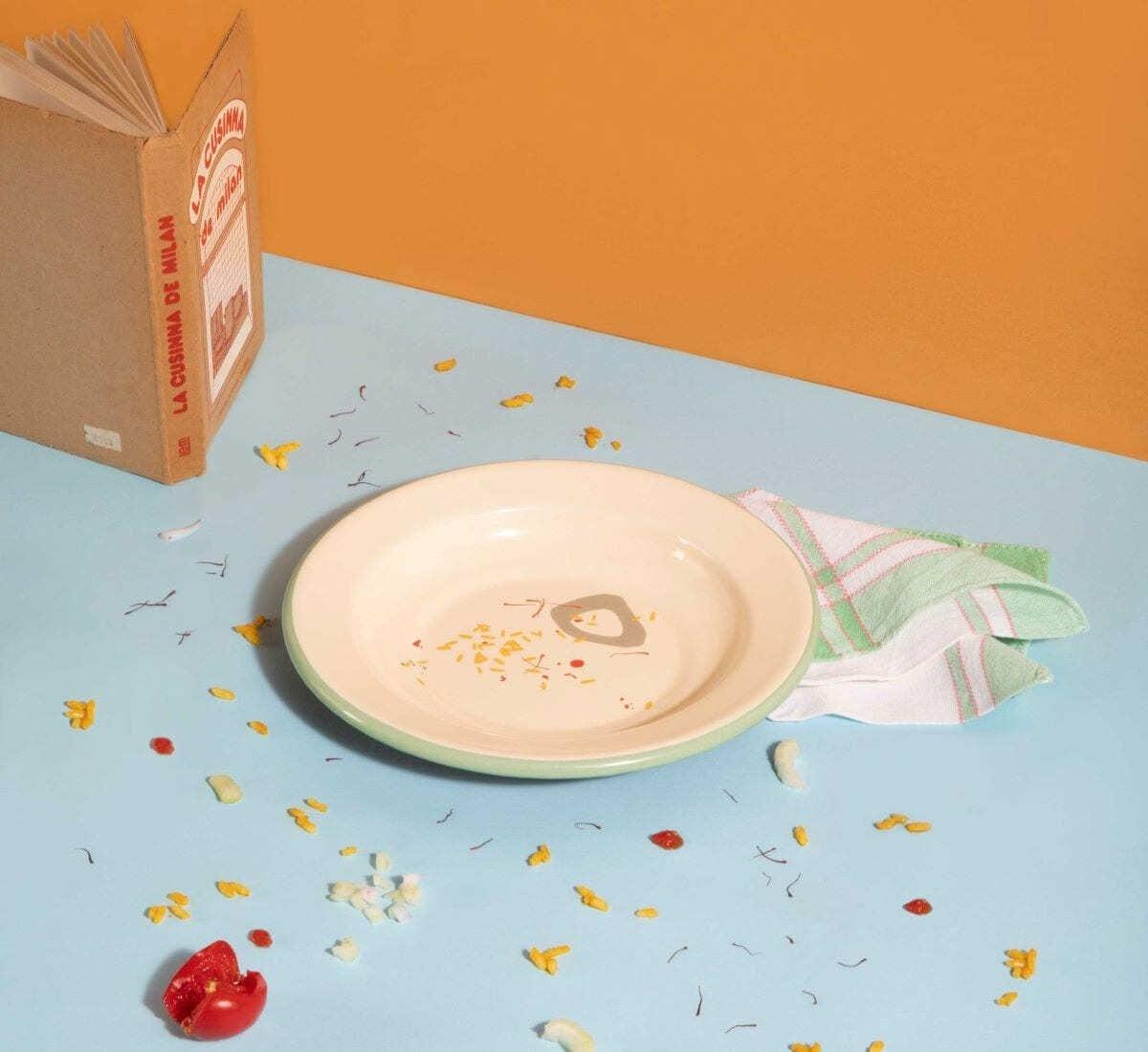 Il piatto di Scarpetta dedicato al risotto alla milanese
