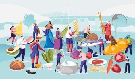 Illustrazione della WWF Food Week