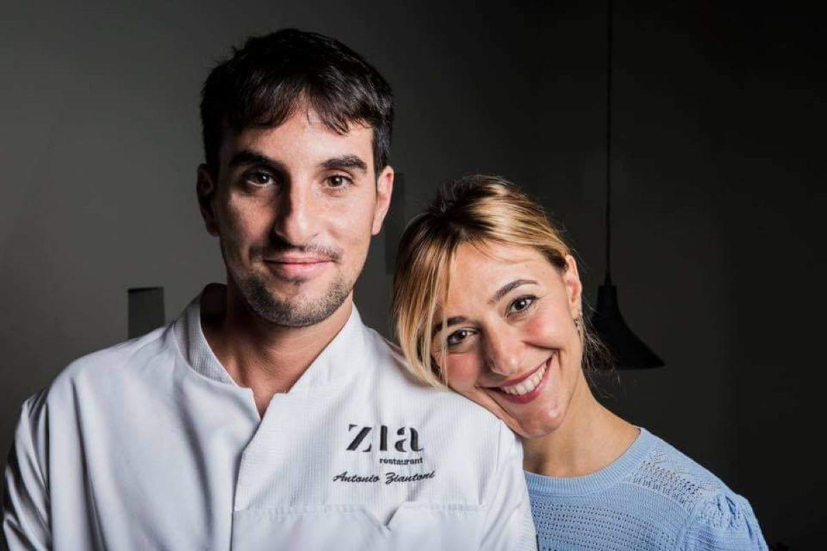 zia restaurant. Antonio Ziantoni e Ida Proietti