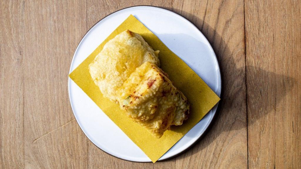 28 Posti delivery. Chef Ambrosino. Frittatina di pasta