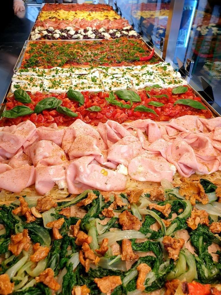 Pizze in teglia di Amaranto