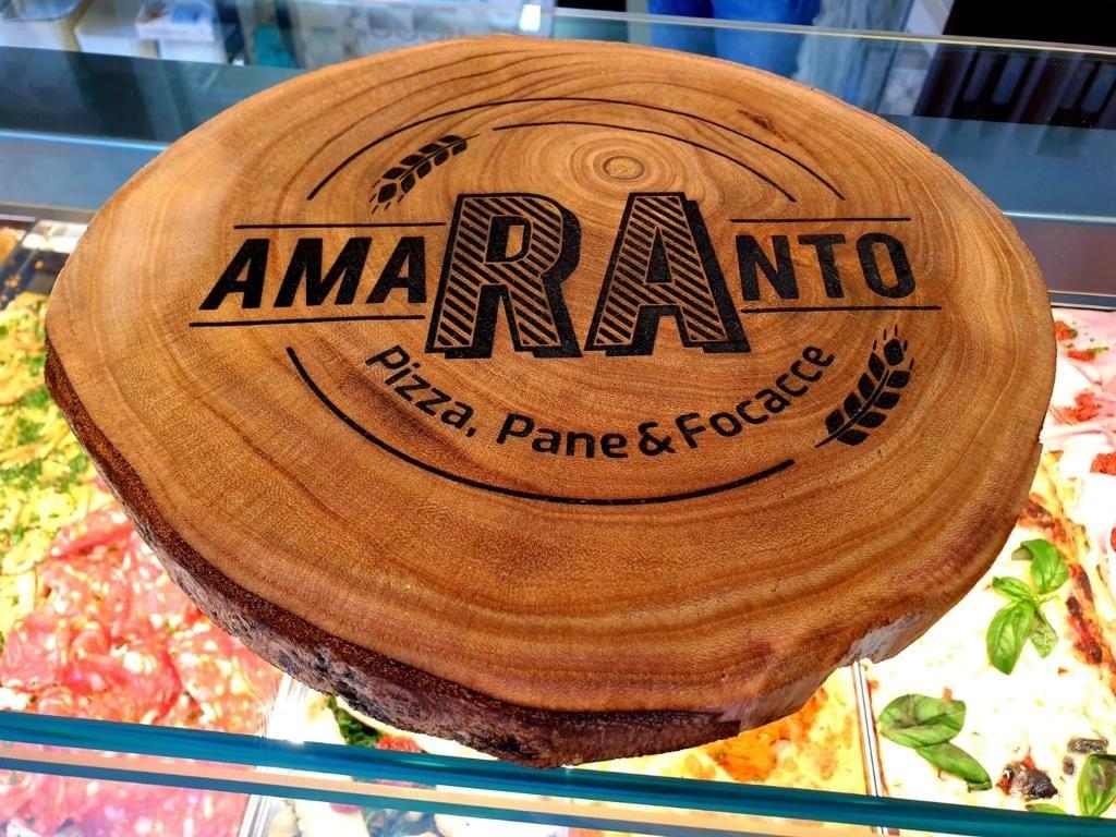 Il logo di Amaranto