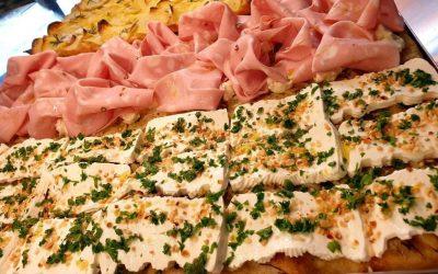 la pizza in teglia di Amaranto
