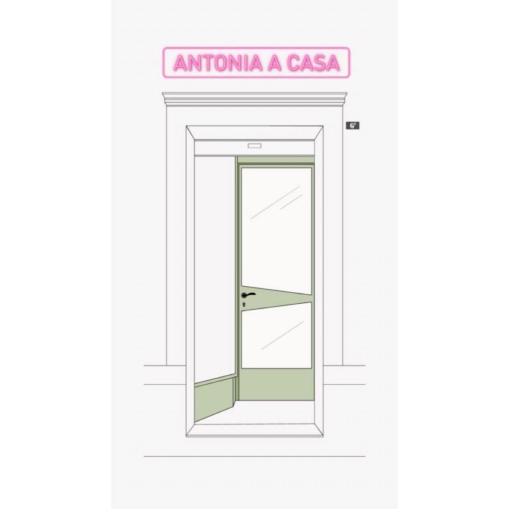 Antonia a Casa a Trieste: il logo