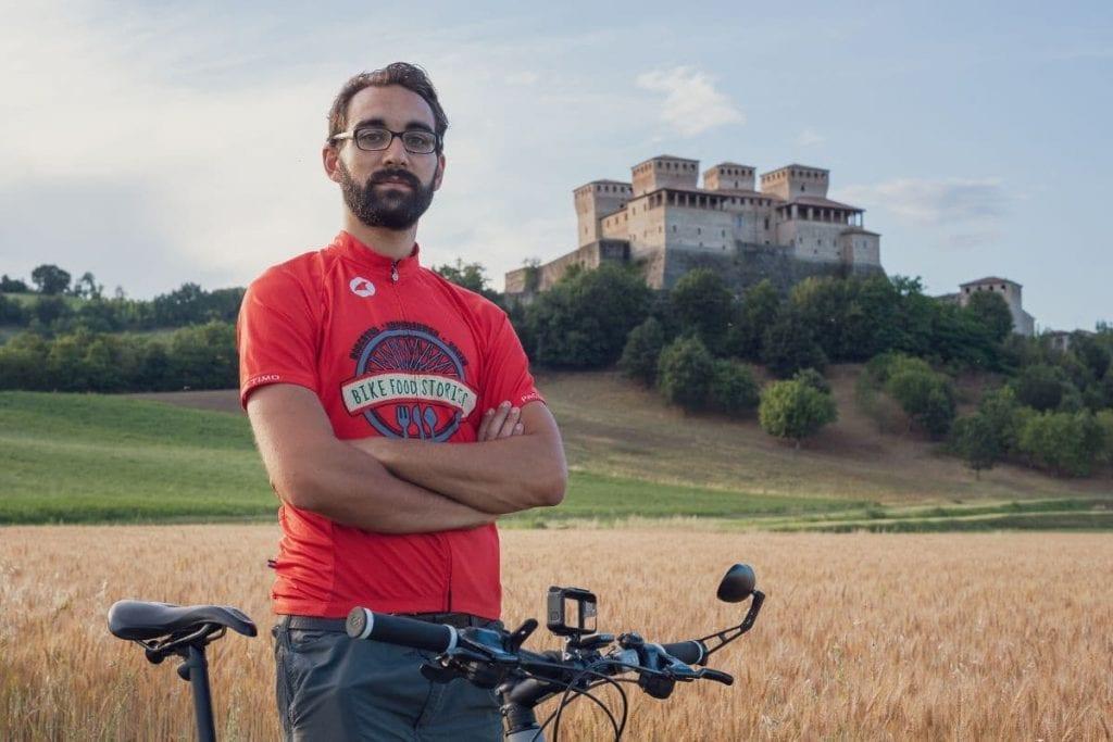 Davide Pagani di Bike food stories