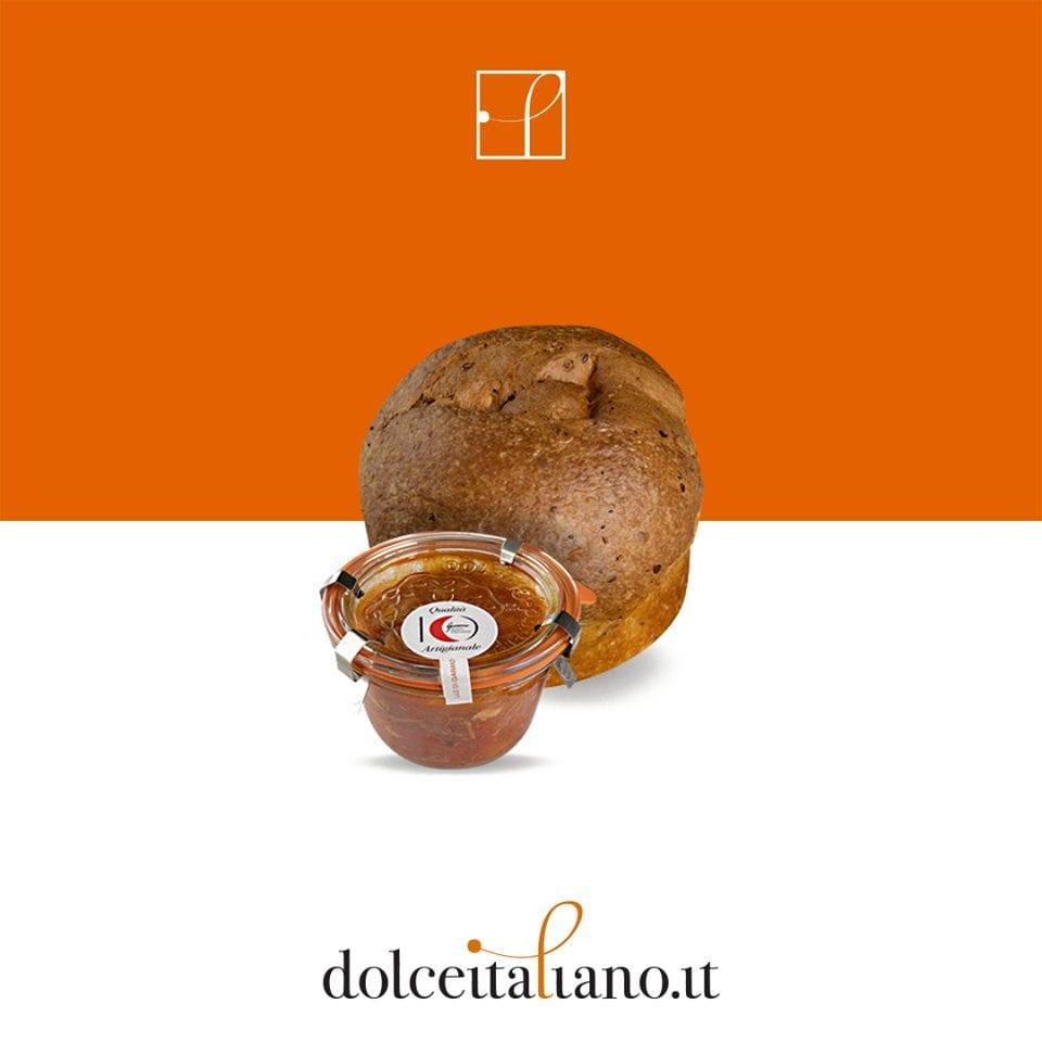 Brioche salata su Dolceitaliano