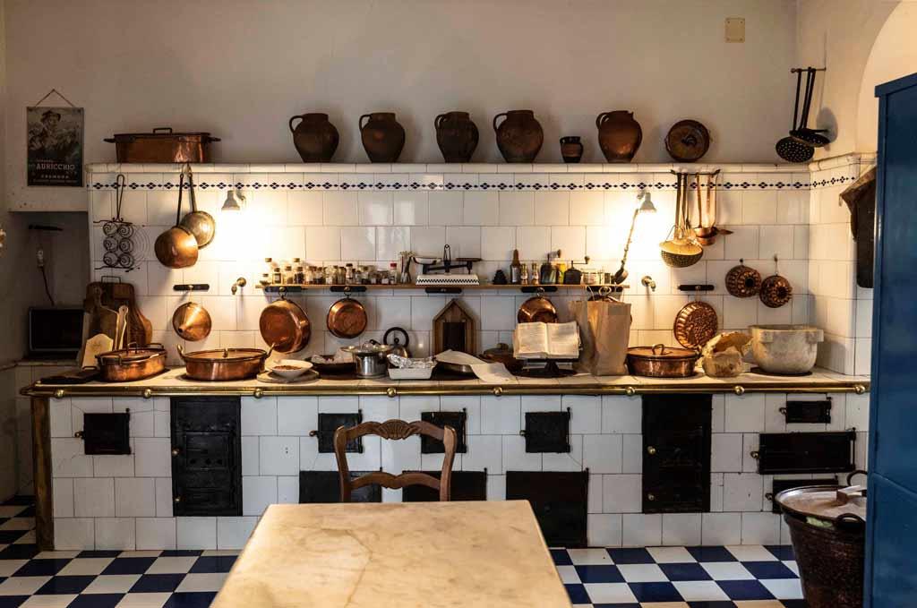 Cucina antica di un palazzo nobiliare
