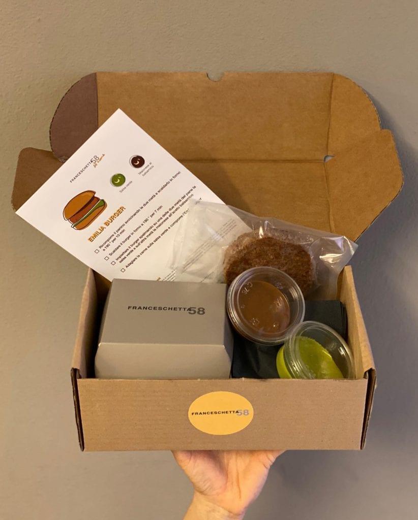 Emilia Burger Box