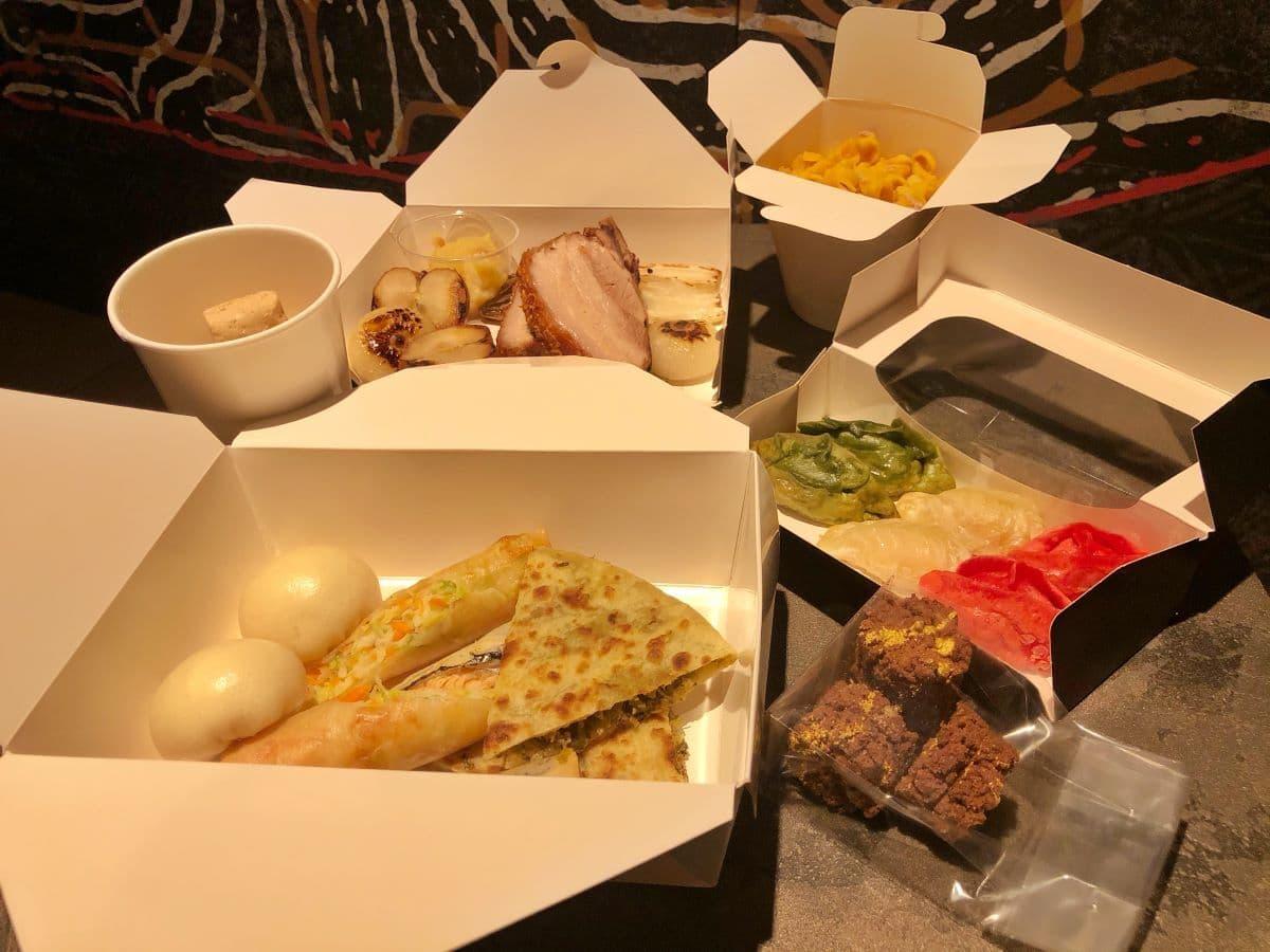 La box delivery di Dao Restaurant a Roma