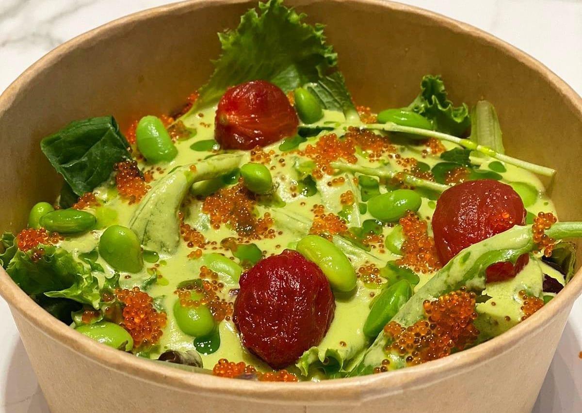 Gazpacho con pomodori verdi di GoXo