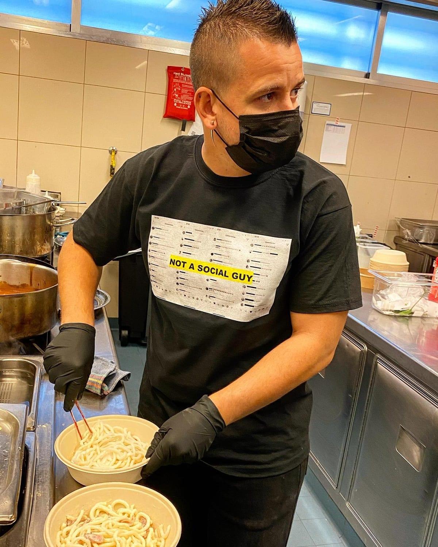 David Munoz, nella cucina dell'NH prova i piatti di GoXo