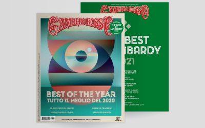 Dicembre 2020 del Gambero Rosso. Anche quest'anno stiliamo il Best of the year
