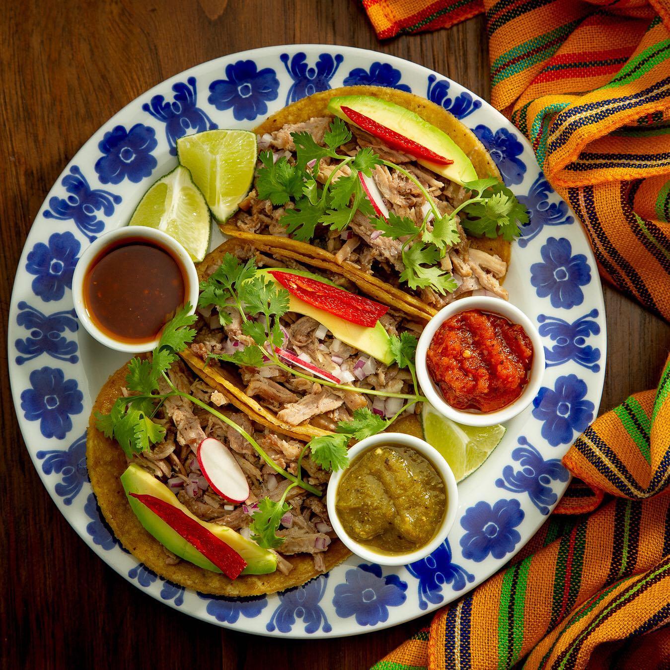 due tacos al piatto