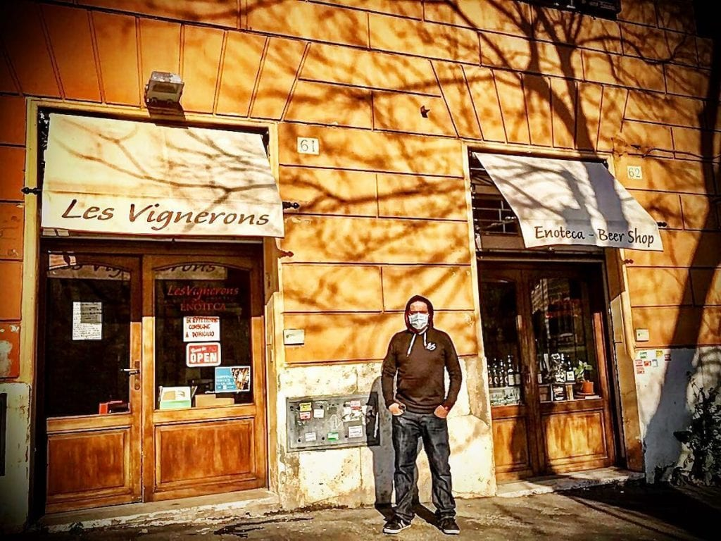Roma Trastevere Antonio_Marino-Le-Vignerons