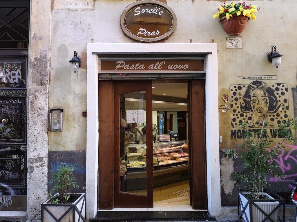 Roma Trastevere Pasta all'uovo Sorelle Piras