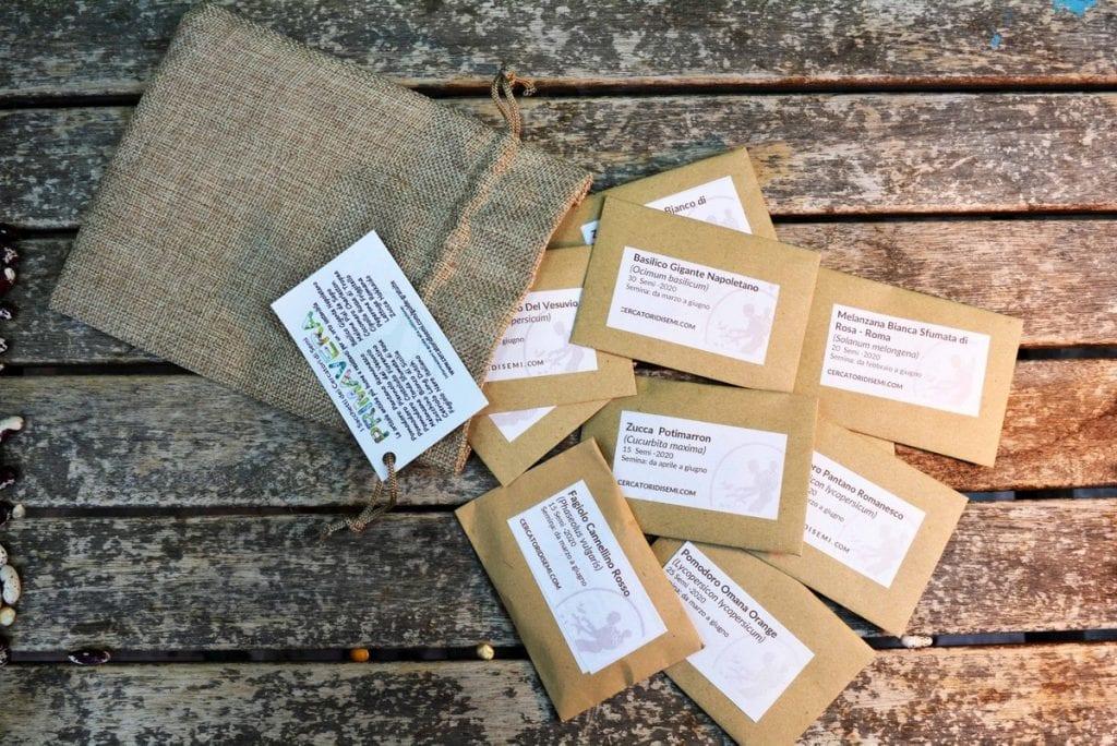 sacchetti di semi