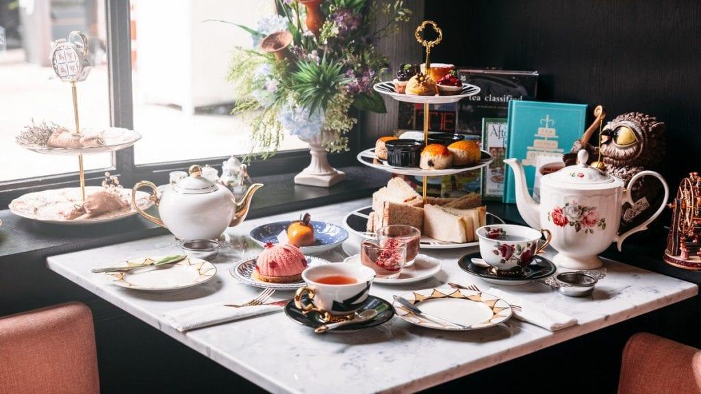 tè del pomeriggio inglese