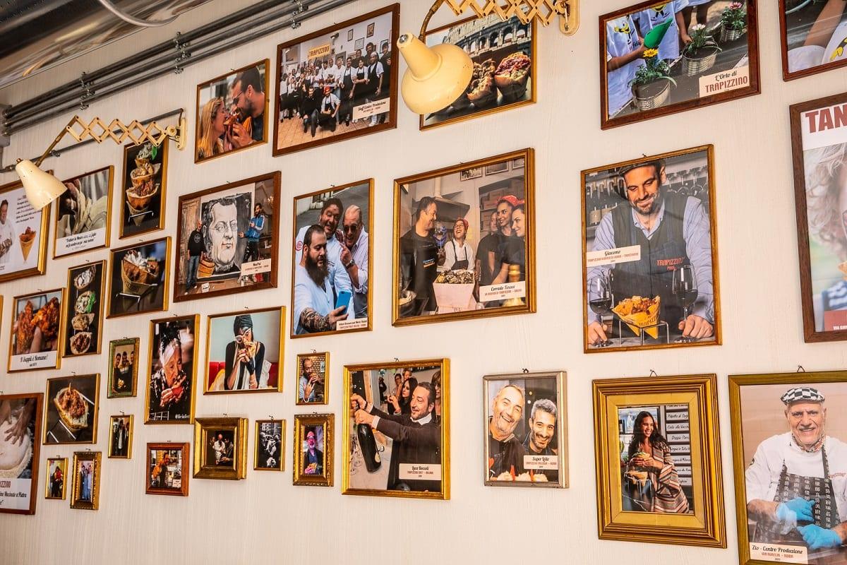 Foto della storia di Trapizzino alla parete
