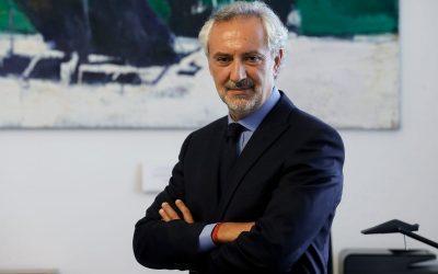 Lorenzo Angeloni, direttore generale Farnesina, 22 settembre 2020. ANSA/FABIO FRUSTACI