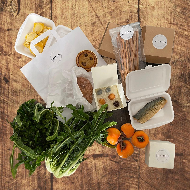 Kit food delivery di Materia
