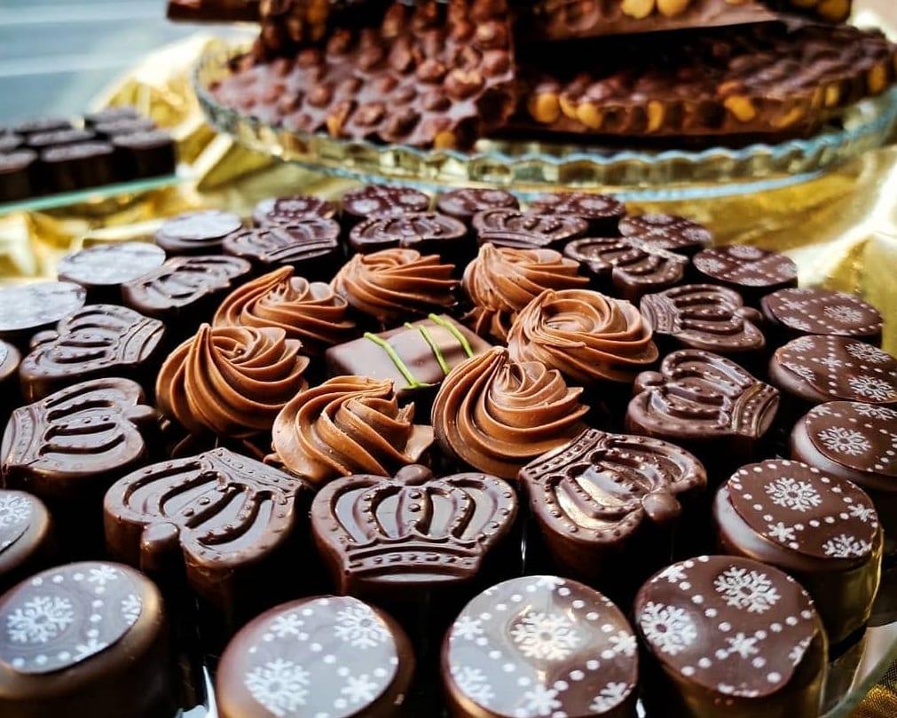 Cioccolatini e tavolette di Falicetto