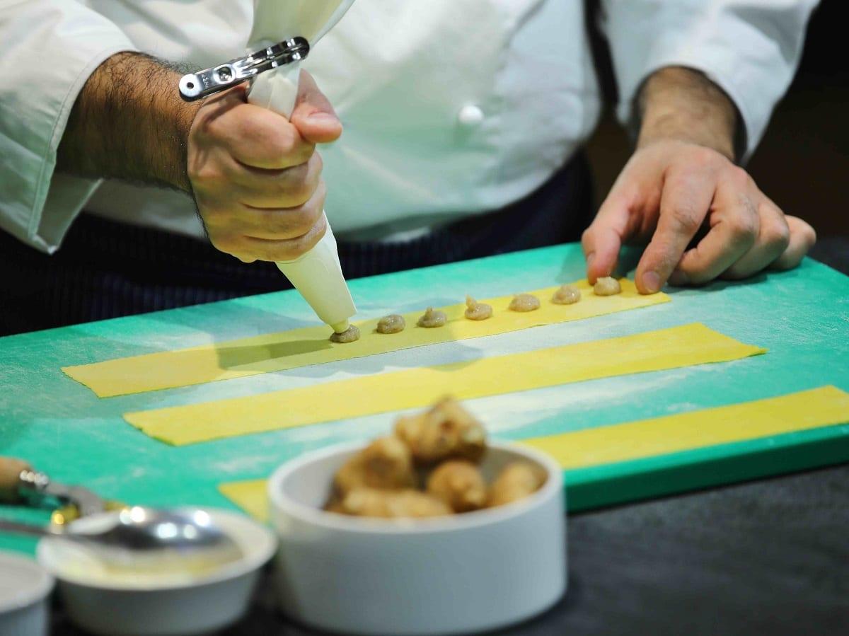 Preparazione della pasta ripiena