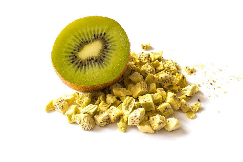Gourmet service_liofilizzazione kiwi
