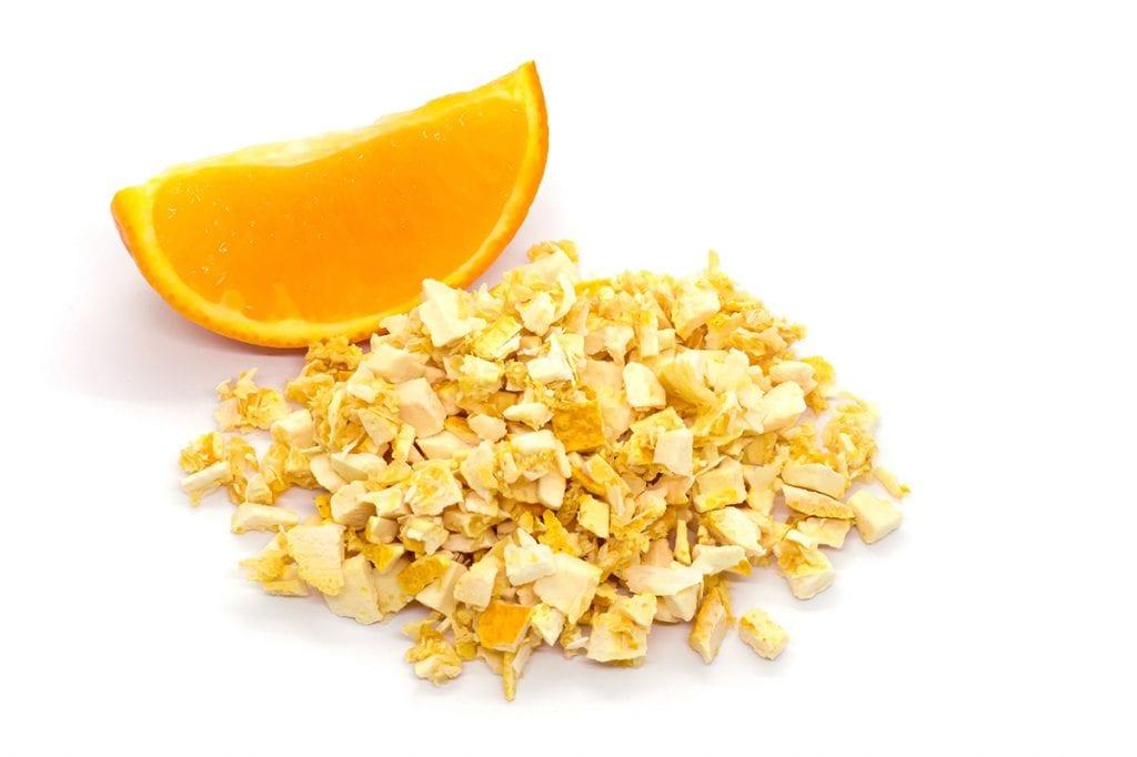 Gourmet service_liofilizzazione arancia