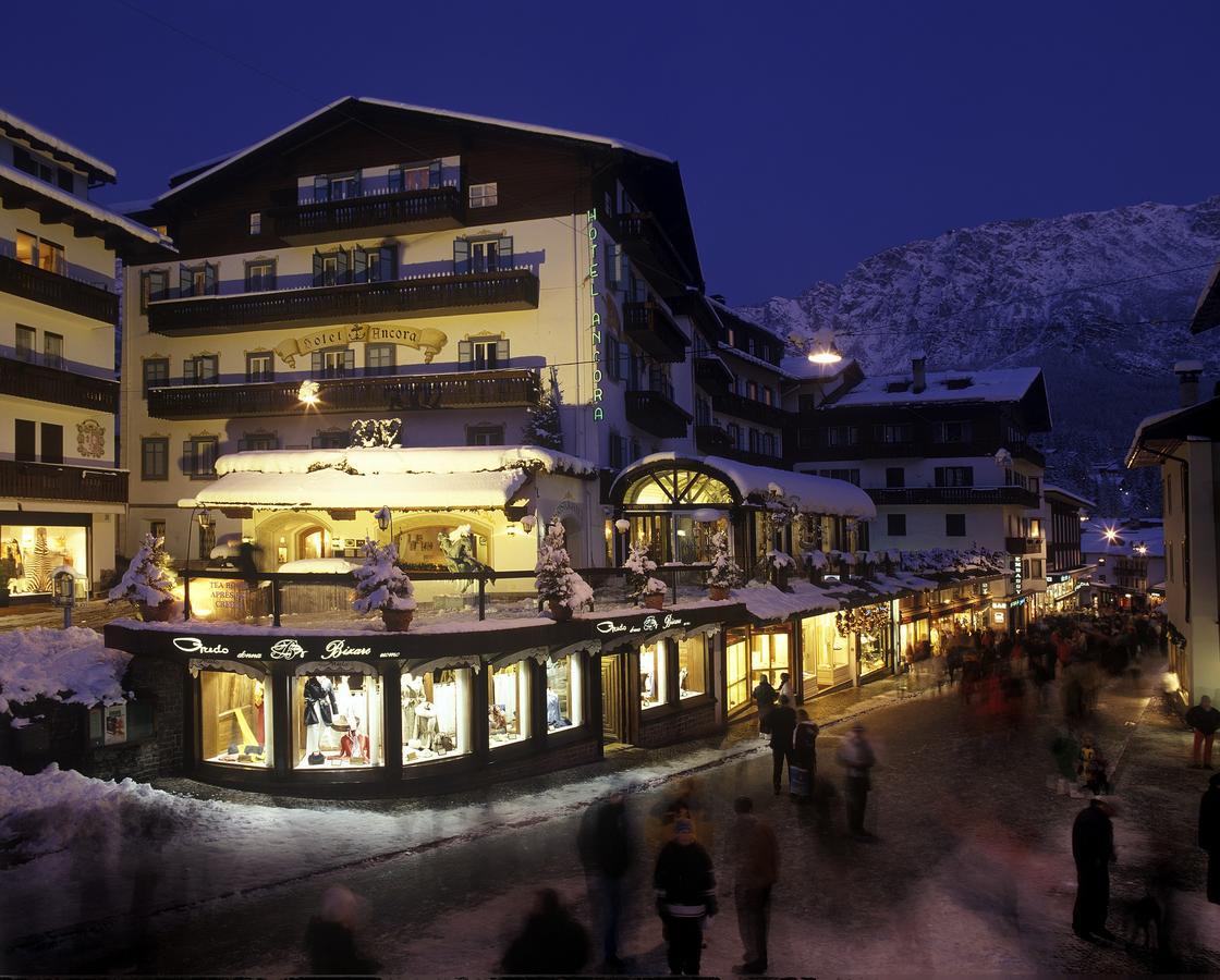 L'Hotel Ancora a Cortina