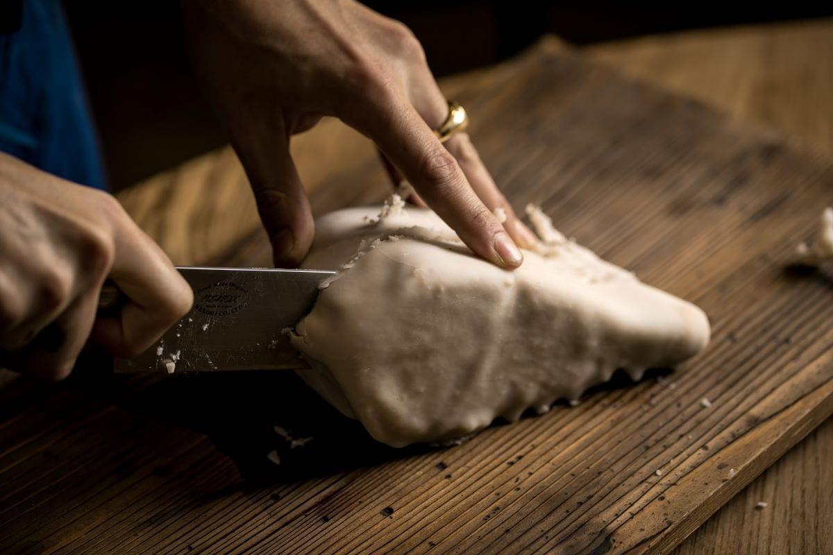 Lavorazione della carne da Marzapane