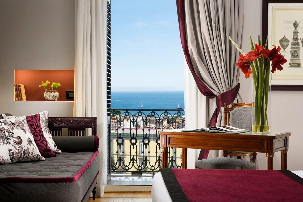 Una camera del Grand Hotel Parker's