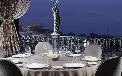 Tavolo al George del Gran Hotel Parker's