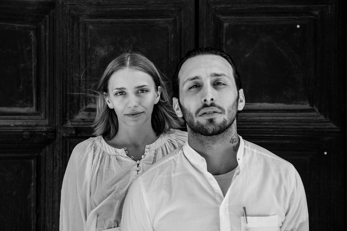 Isabella Potì e Floriano Pellegrino