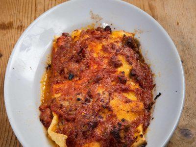 Lasagne di castrato e pecorino