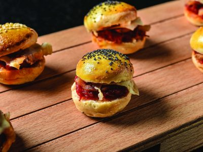 Mini burger all'amatriciana