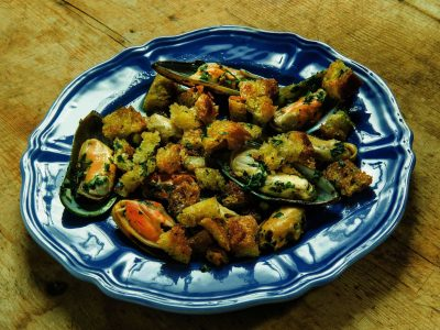 Cozze arrecanate