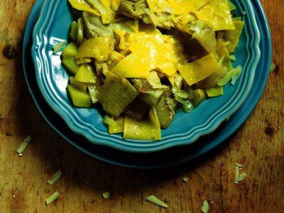 Zuppa di carciofi spinosi
