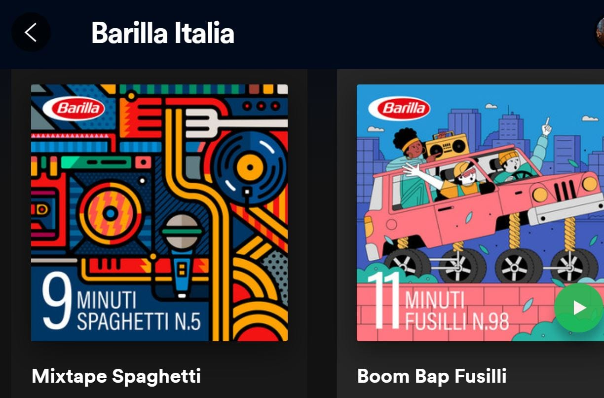 Cover Playlist Timer Barilla