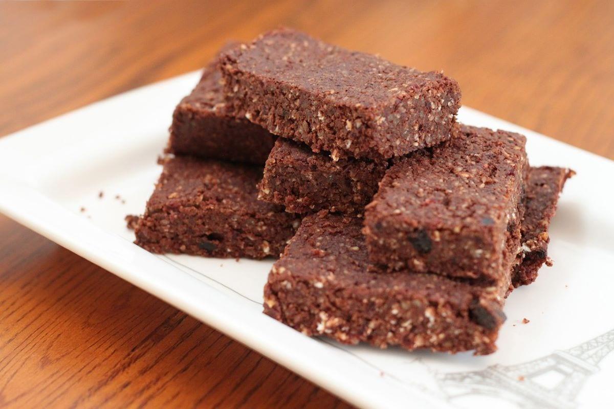 Brownies con farina di ceci