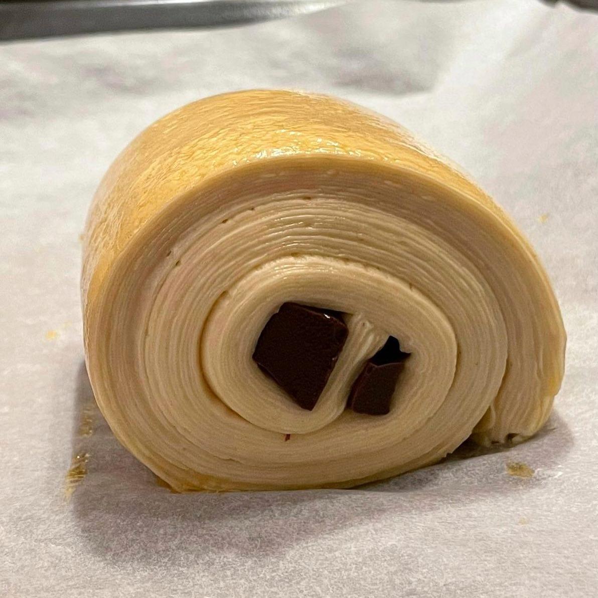 Preparazione di una pasta sfogliata