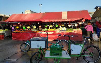La bici di Mercato Itinerante a Porta Palazzo